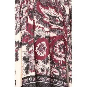 Free People Dresses - Free People boho silk Say you love me mini dress